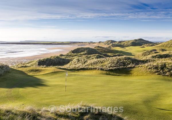 !3th Green - Trump International Golf Links and Hotel