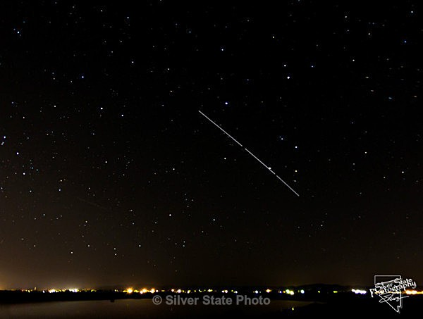 International Space Station over Fallon - 'Variety'