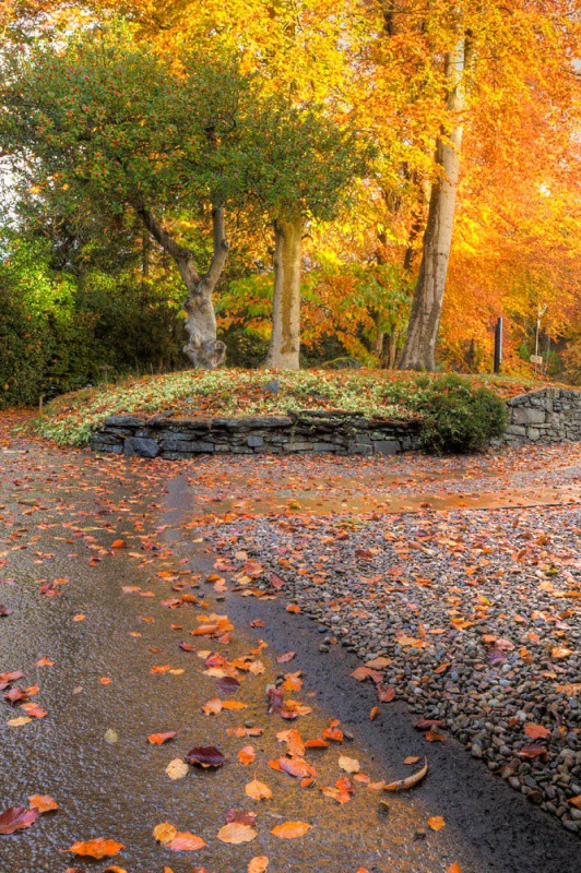 the driveway - Perthshire