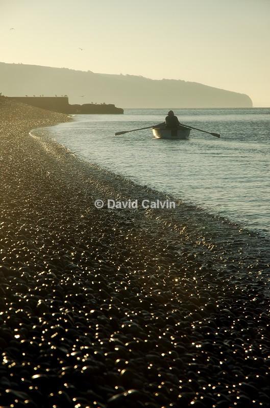 Early Morning Rower - Coast