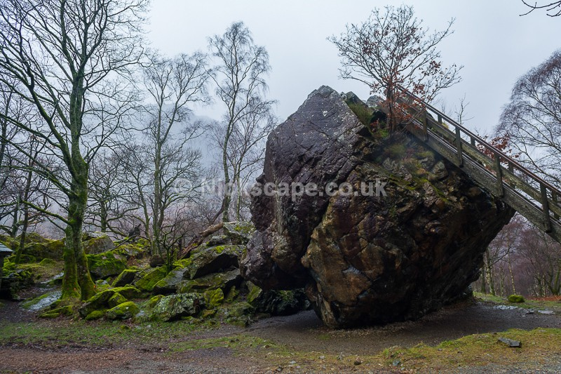 Bowder Stone in Winter | Lake District Landscapes