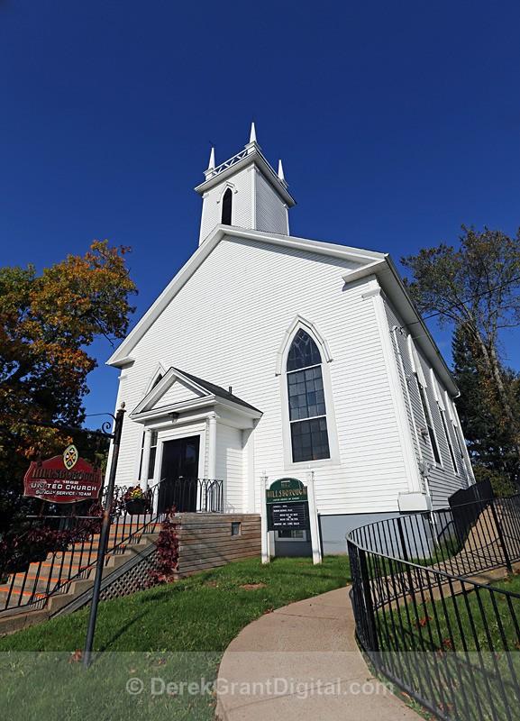 Hillsborough United Church ~ New Brunswick, Canada - Churches of New Brunswick