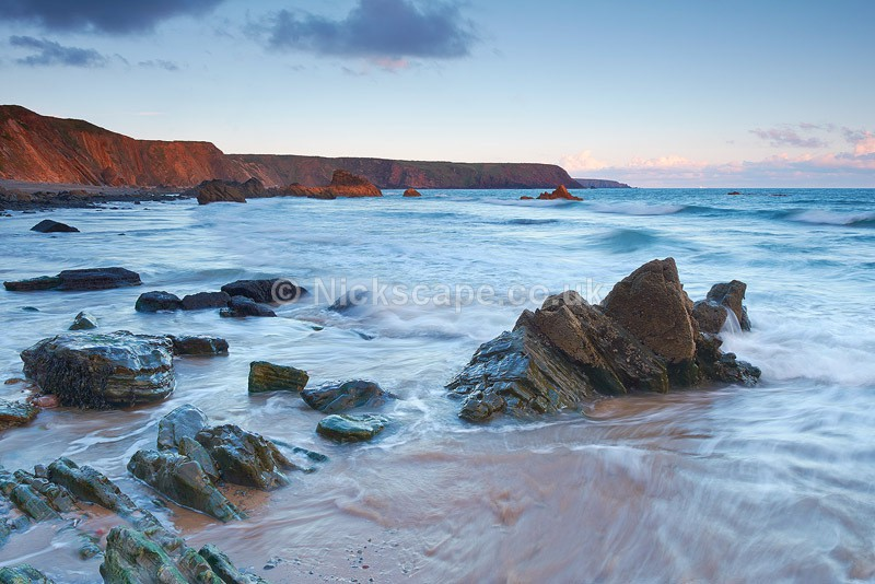 Photograph of Marloes Sands Beach in Pembrokeshire