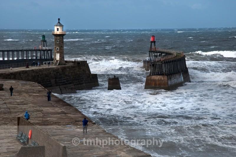 Rough Sea. - Yorkshire Coast