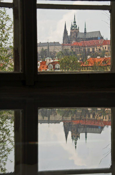 view from the Musuem - Prague