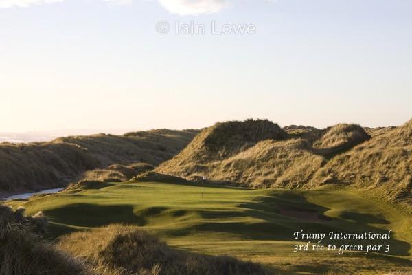 Trump International 3rd Tee to Green - Trump International Golf Links Aberdeen