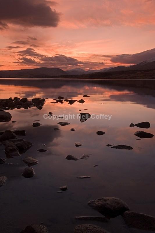 Loch Tulla, Highland_2 - Portrait format