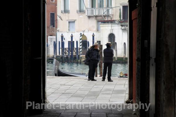 Gondoliers - Venice