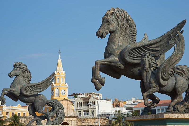 Pegasus Statues - Colombia