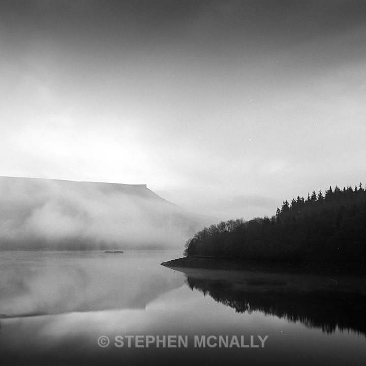 Mists on Ladybower - Images made on Film