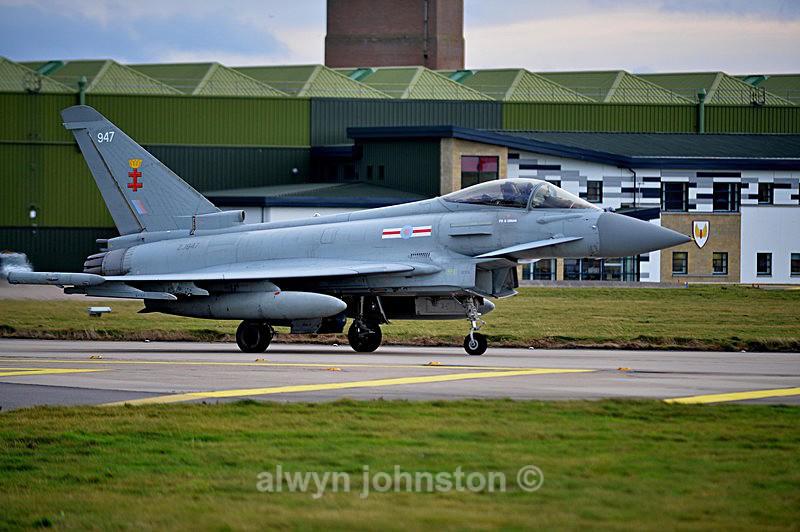 TYPHOON 8 - RAF LOSSIEMOUTH VISIT NOV 2017