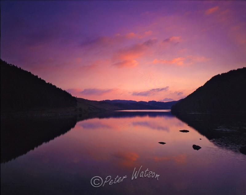Llyn Geirionydd Snowdonia Wales - Sunsets & Skies