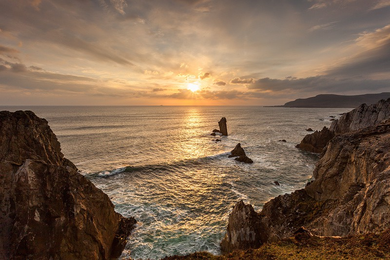 Achill Island Sunset