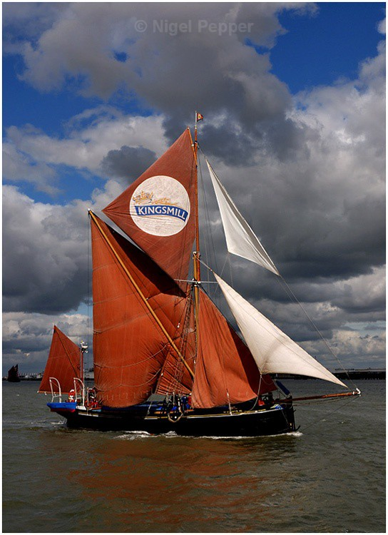SB Gladys - The Thames Barge Match