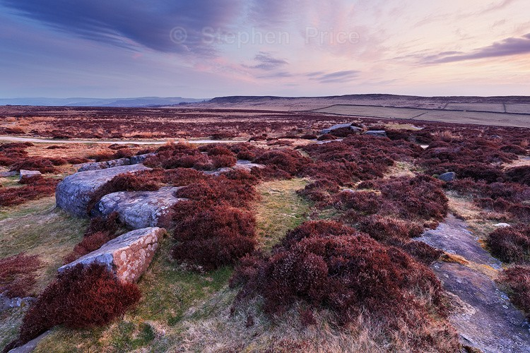 Curbar Edge in the Peak District | Landscape Photo