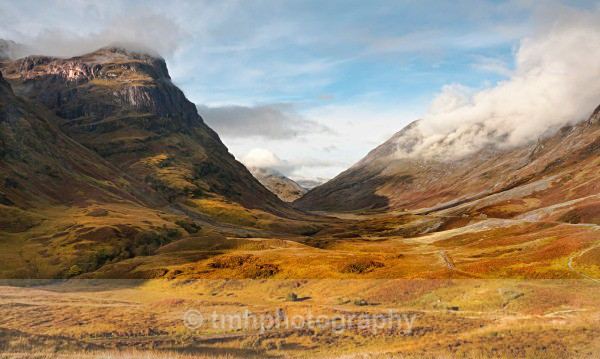 Glen Coe valley - Landscape