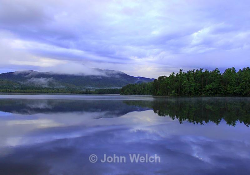 Chocorua Lake Rain Squall - White Mountain National Forest New Hampshire