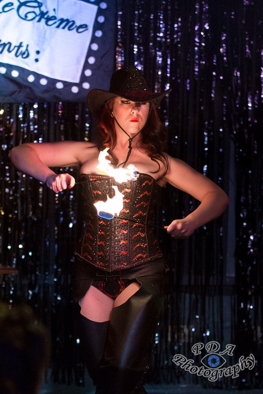 4 Trixi Tassels at The Racehorse Burlesque