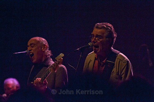 John Turnbull and Norman Watt-Roy of the Blockheads - Concert