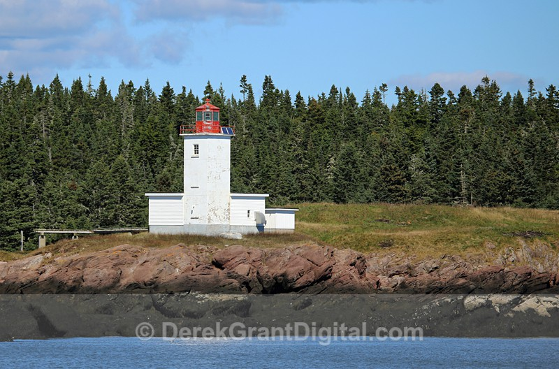 Bliss Island Lighthouse - Lighthouses of New Brunswick