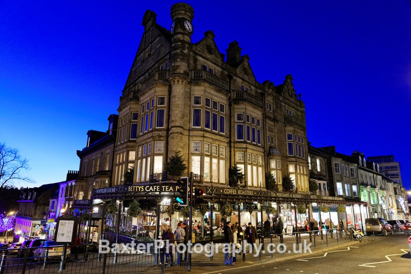 Bettys Tea Rooms (Early Evening) - Harrogate Town