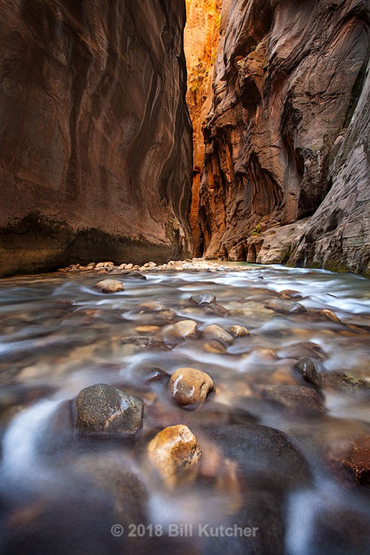 Zion Narrows 2 - Current Show