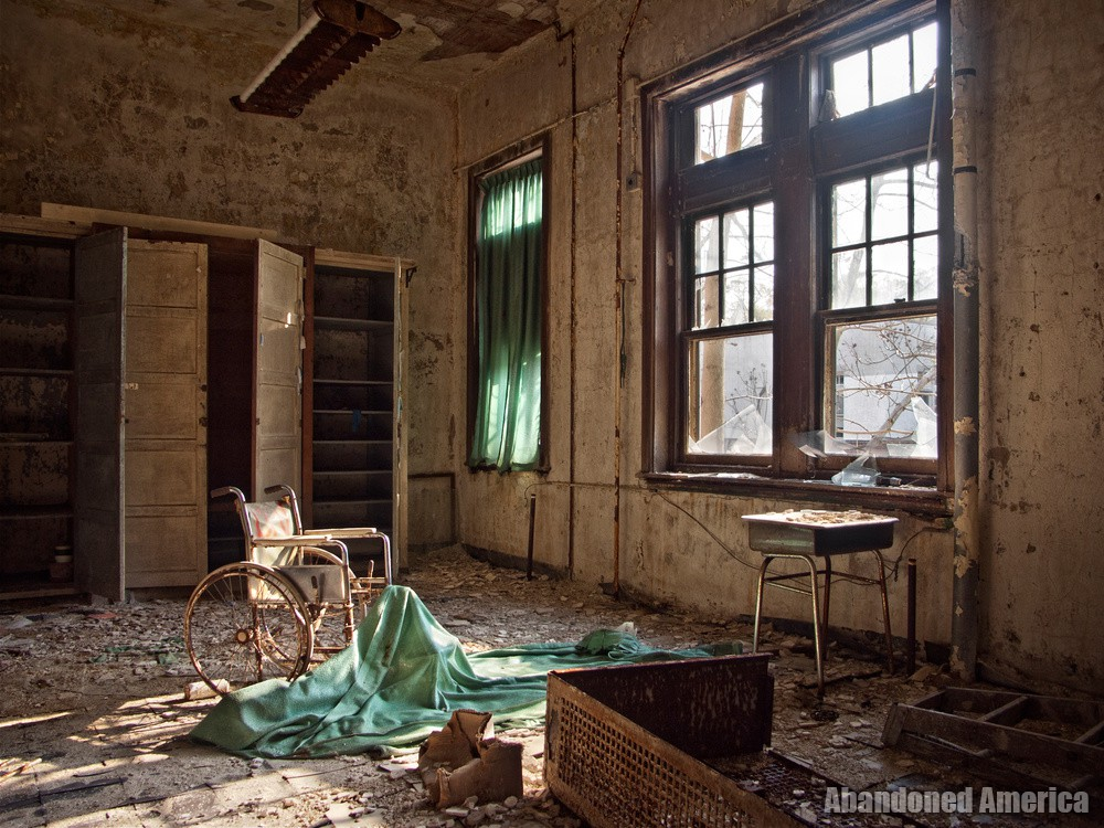 Pennhurst State School (Spring City, PA) | Contemplative Wheelchair - Pennhurst State School and Hospital