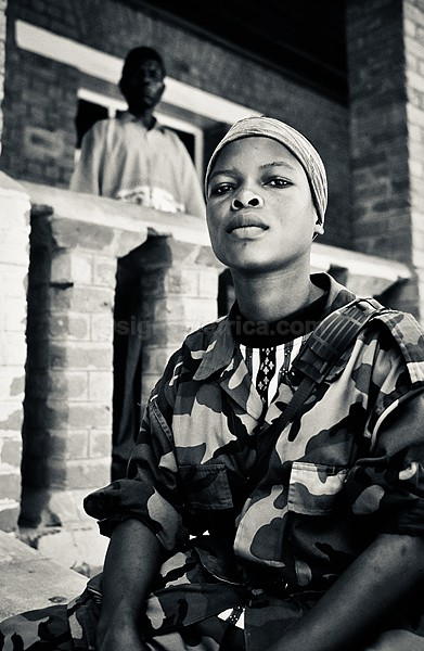 Child Soldier Mongbwalu DRC