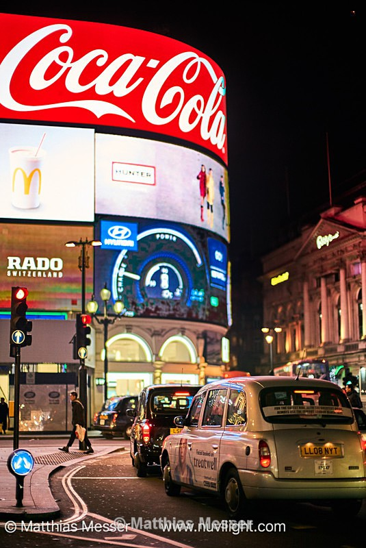 Picadilly Circus, London - Landscapes