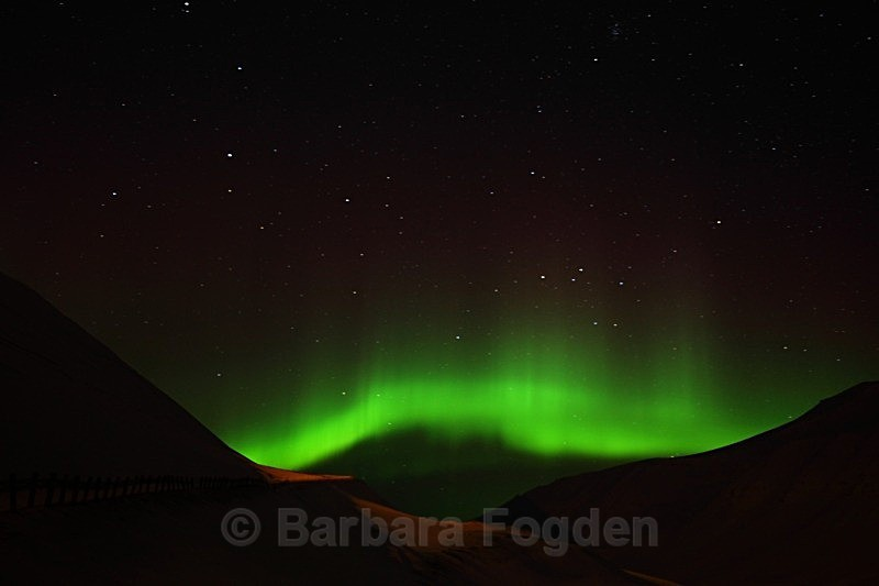 Northernlight 9343 - Colours of Svalbard