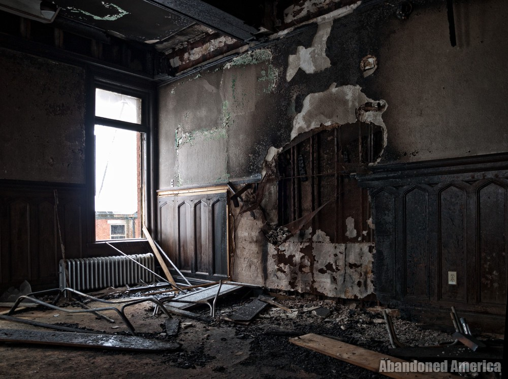 Aftermath of a Fire | Norwich State Hospital