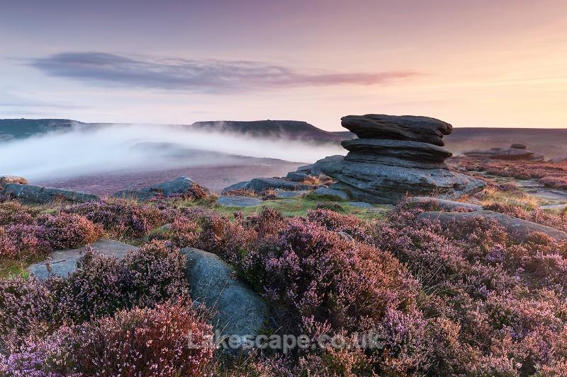 Sunrise Over Owler Tor_2148 - The Peak District