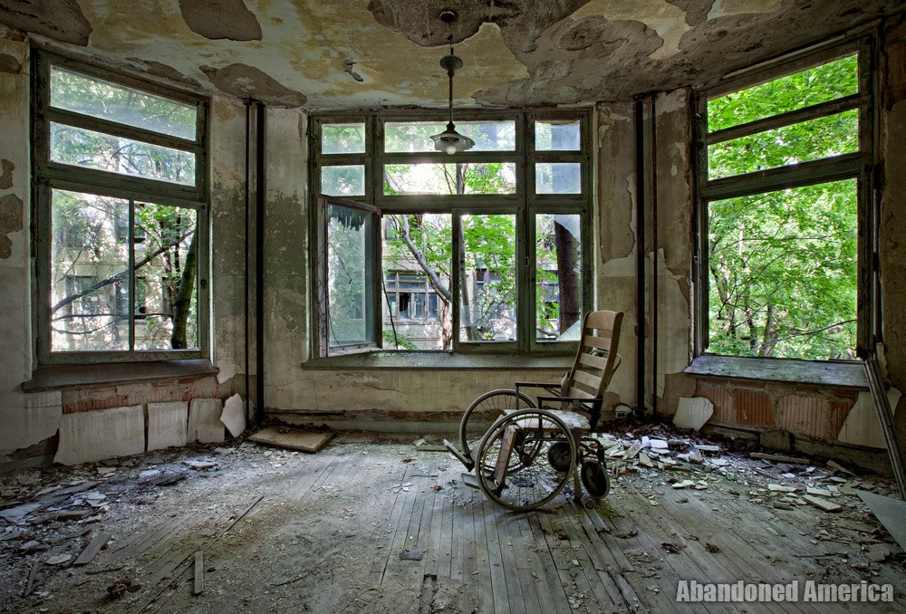 Ocean Vista Tuberculosis Hospital - Photographs by Matthew Christopher Murray's Abandoned America