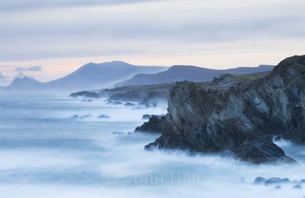 Pastel Shades At Atlantic Drive, Achill Island, Co. Mayo, Ireland.