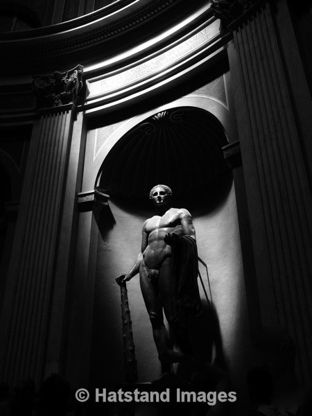 Statue, Vatican Museums - places