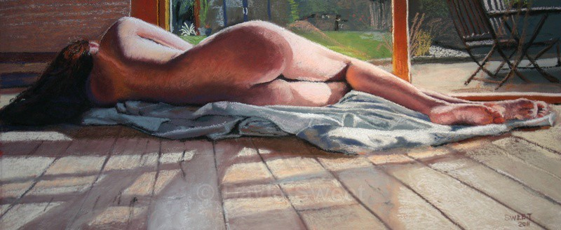 Sun Lounger - Paintings