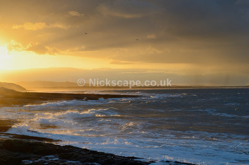 Amazing evening light at Bamburgh Landscape Photo | Seascape Photography by Nickscape