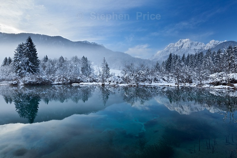 Slovenia Winter Photography | Snowy Mountains and Reflections