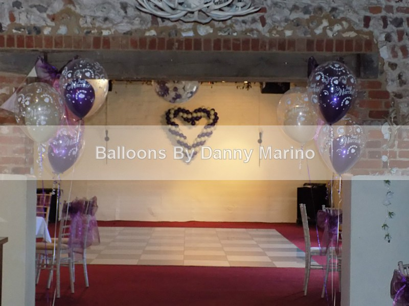 Balloons at Haubois Hall - Special Occasions