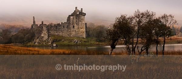 Kilchurn Castle. - Landscape