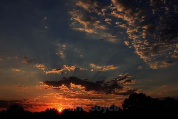 Midwest sunset - Marshall, Minnesota