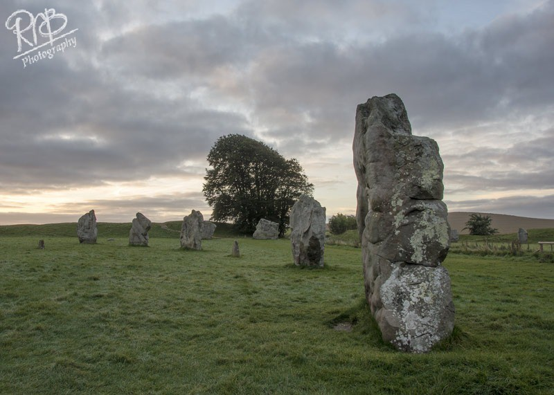 Avebury Stones Morning Light - Avebury