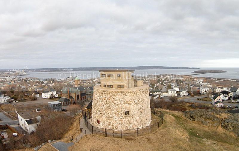 Carleton Martello Tower Saint John New Brunswick Canada - Saint John