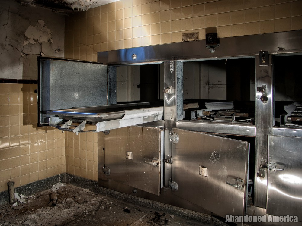 Sydenham/Montebello Hospital (Baltimore, MD) | Morgue Drawers - Sydenham/Montebello Hospital
