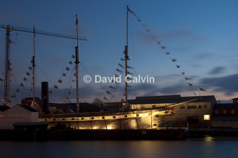 SS Great Britain - Bristol Harbourside