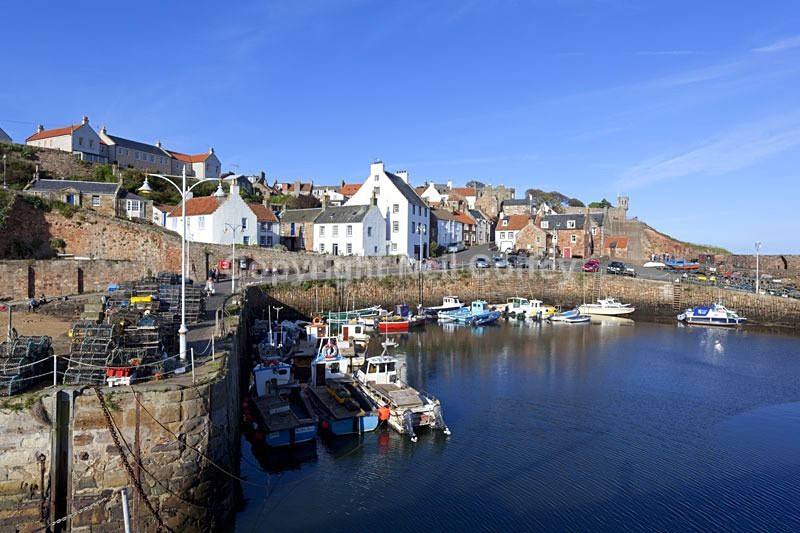Crail Harbour, Fife - Cities & Towns