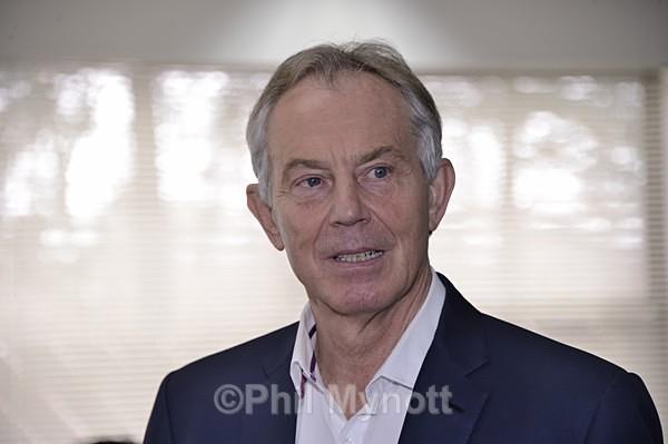 Tony Blair portrait photograph