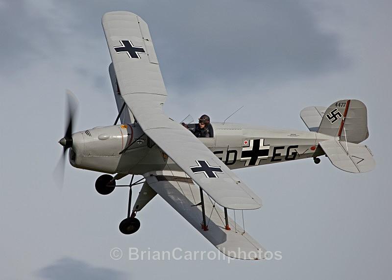 Bucker Jungmann G-RETA  GD-EG/4477 - Shuttleworth Air Show