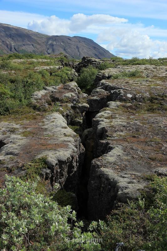 Thingvellir tectonic rift - Iceland