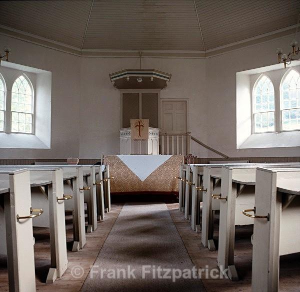 Interior - Kilmorich Parish Church, Cairndow, Argyll. - Highland